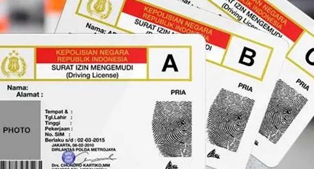 Update Seputar Covid-19; Pelayanan Perpanjang SIM Tutup