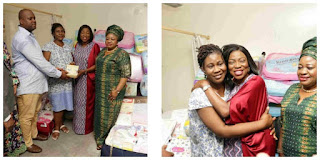 Bolanle Ambode Gives Couple With Quintuplets N500,000 Monthly Allowance