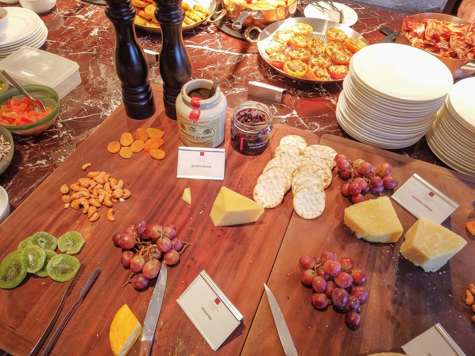 Conrad Centennial Singapore Breakfast buffet