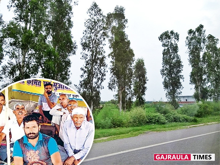 farmers-on-highway-gajraula
