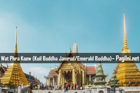 Wat Phra Kaew (Kuil Buddha Jamrud/Emerald Buddha)