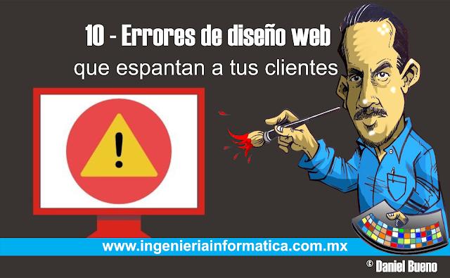 Errores en paginas web