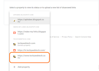 Select the property