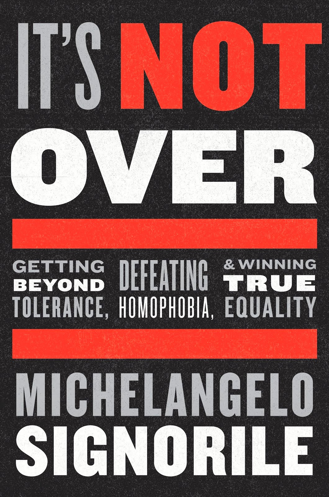"My last book, ""It's Not Over,"" published a year before Trump, sadly predicted it all. Click below."