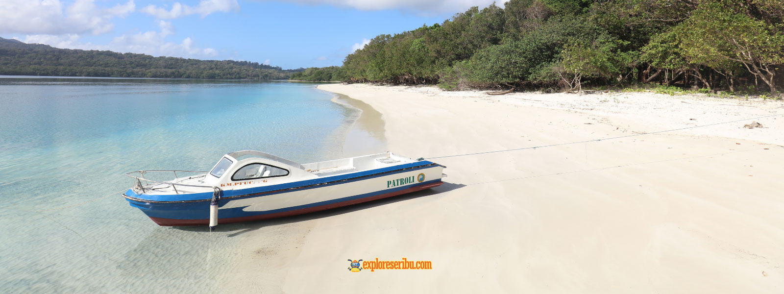wisata pantai pulau peucang ujung kulon