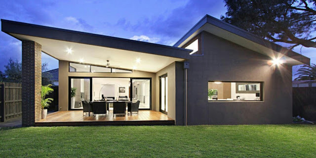 Single Storey Contemporary House Designs