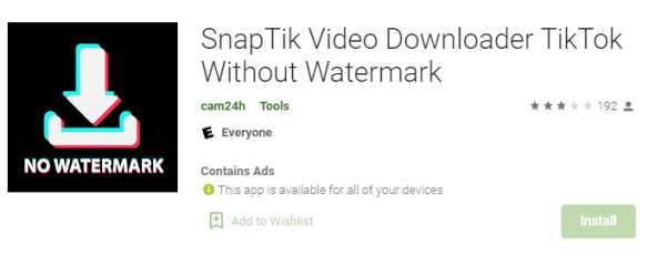 Aplikasi Snaptik