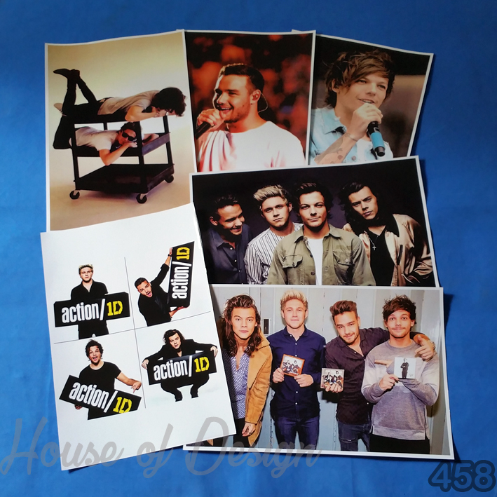 POSTER ONE DIRECTION UKURAN POSTER A3+ CUSTOM MURAH