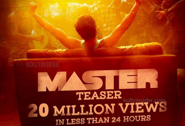 Vijay's 'Master' teaser achieves milestone record in 24 hours