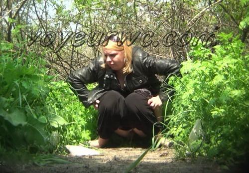 PissHunters 8465-8480 (Outdoor voyeur peeing. Voyeur public toilet spy cam)
