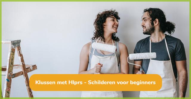 Klussen met Hlprs - Schilderen voor beginners