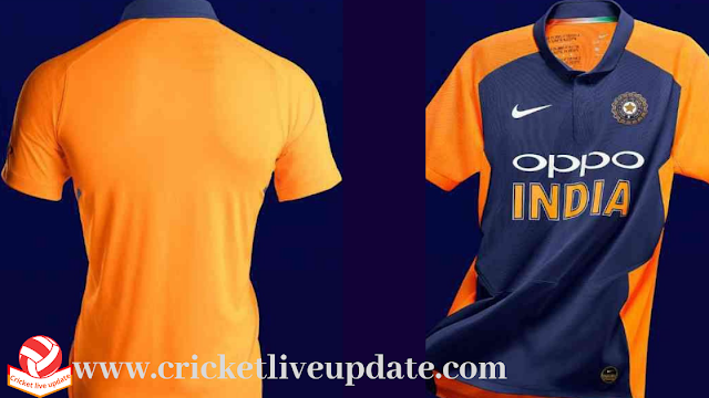 why india to wear orange jersey in world cup