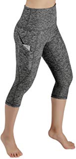 ODODOS High Waist Out Pocket Yoga Capris