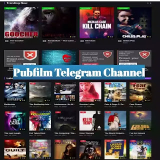 Pubfilm Telegram Channel