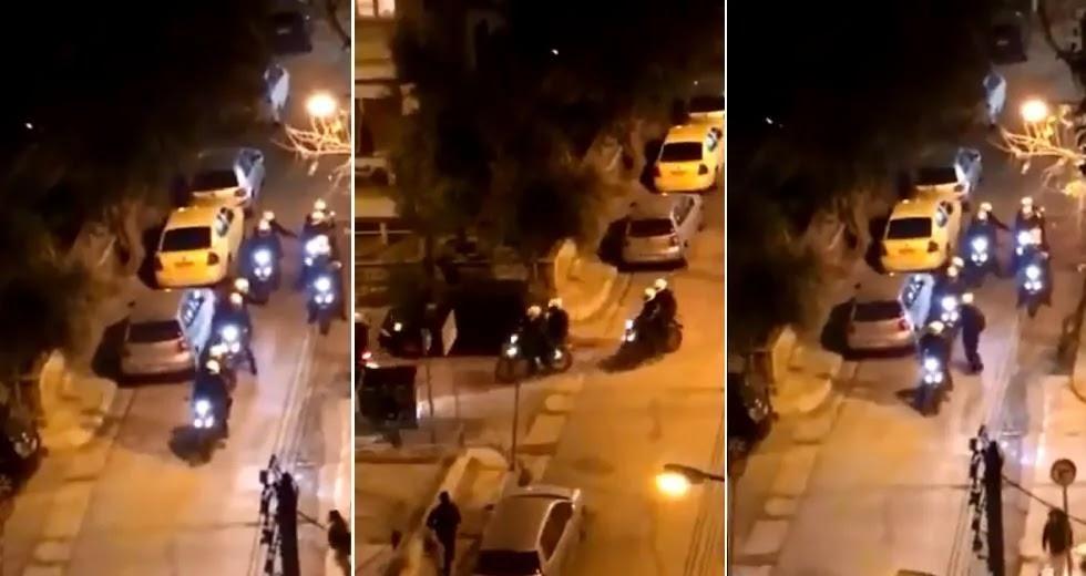 Ποιοί έχουν στελεχώσει τα σώματα ασφαλείας; Βίντεο ΣΟΚ: Βρίζουν τα Θεία και σπάνε αμάξι