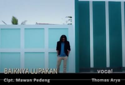 Lirik Lagu Pof Malaysia Thomas Arya - Baiknya Lupakan
