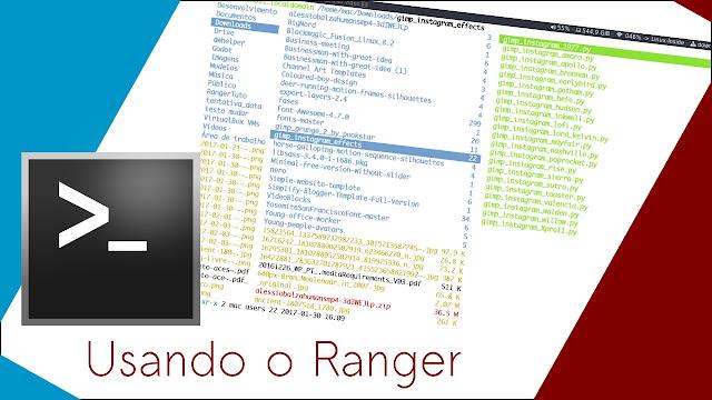 Vídeo: Aprenda a usar os comandos básicos do gerenciador de arquivos Ranger