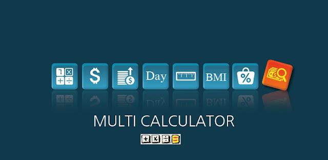 تنزيل Multi Calculator Pro  آلة حاسبة متعددة الوظائف لنظام الاندرويد