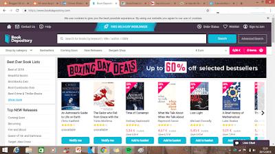 Librería online, Book Depository, Dónde comprar libros baratos online