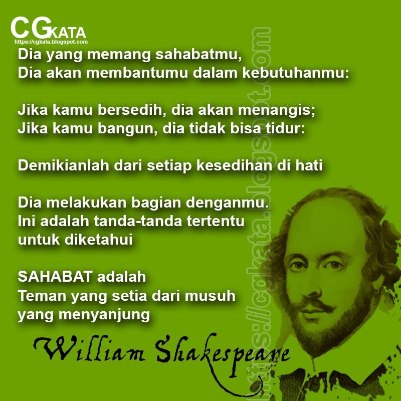 50 Kata Kata Mutiara Shakespeare Tentang Persahabatan Cinta Dan Pemuda Cgkata