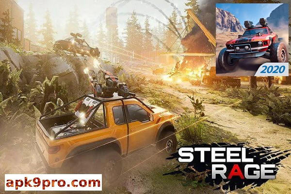Steel Rage: Mech Cars PvP War, Twisted Battle 2020 v0.155 b159 Apk + Mod (File size 132 MB) for android
