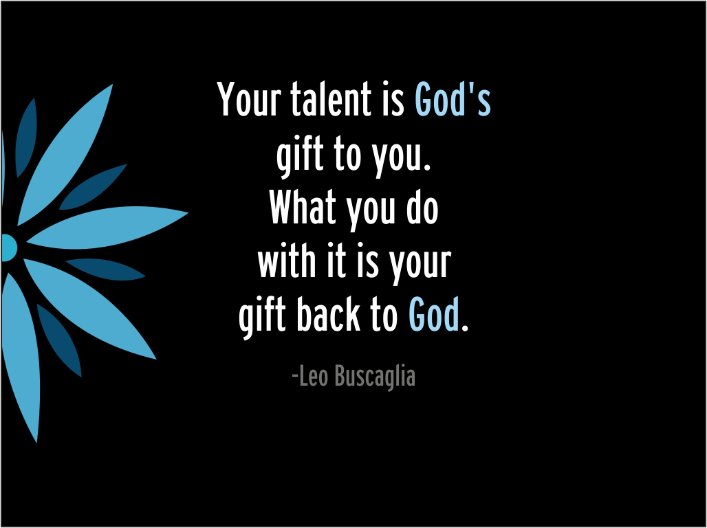 how to know your talents and gifts