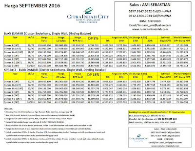harga-cluster-damar-citra-indah-city-september-2106