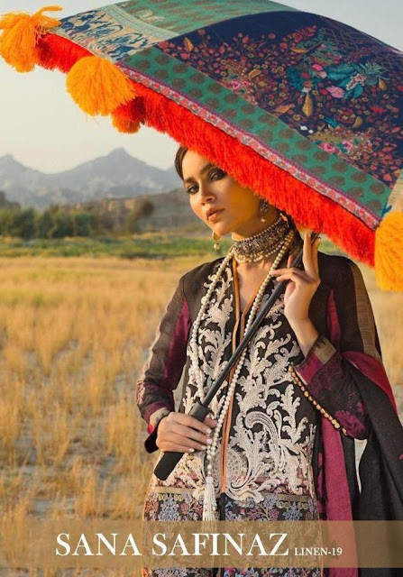 Deepsy Sana Safinaz Linen 19 Pakistani Suits Wholesaler
