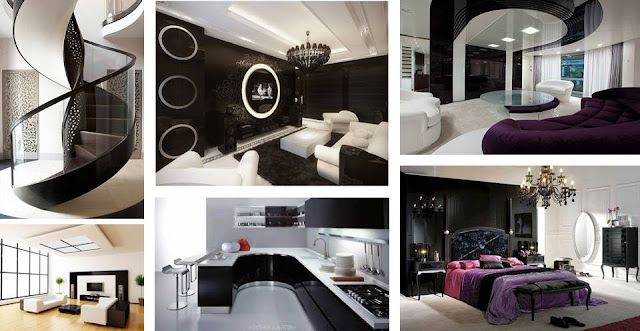 Inspiring Stunning Black And White Contemporary