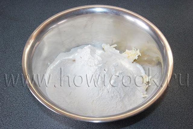 рецепт ванильного сметанника из песочного теста с пошаговыми фото
