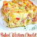 Baked Western Omelet Recipe