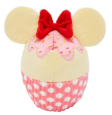 Disney Minnie Mouse Cupcake Plush Squeaky Toy