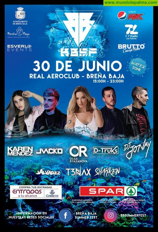 """BREÑA BAJA: festival de música electrónica """"Breña Baja Summer Fest 2018"""""""