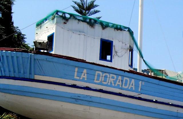 el barco de Chanquete en Nerja Málaga