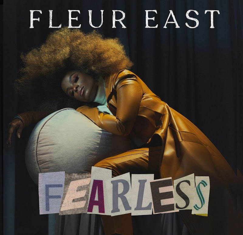 Fleur East Featured In Fearless Album Cover-  2020