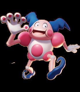 Pokémon Unite - Mr. Mime Splash Art