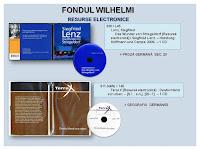 foto CD fondul Wilhelmi