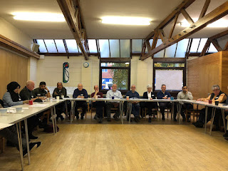 Community group representatives meeting to discuss the future of Darnall