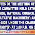 Minutes of the Meeting of the Standing Committee held between staff side NC (JCM) and Official side at 3.00 p.m. on 03.05.2017