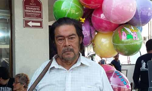 Kiko, el globero de Veracruz