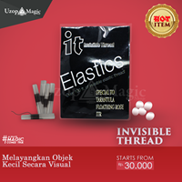 Jual alat sulap invisible thread it wax