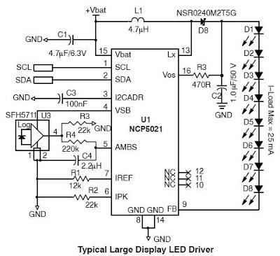 diagram ingram high voltage white led driver. Black Bedroom Furniture Sets. Home Design Ideas