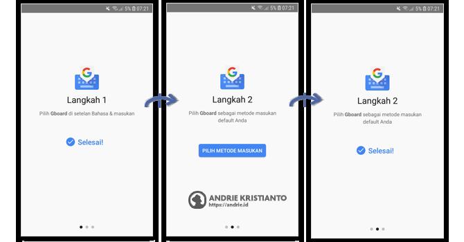 Setting Google Keyboard  - Aplikasi Penerjemah Dari Google Otomatis