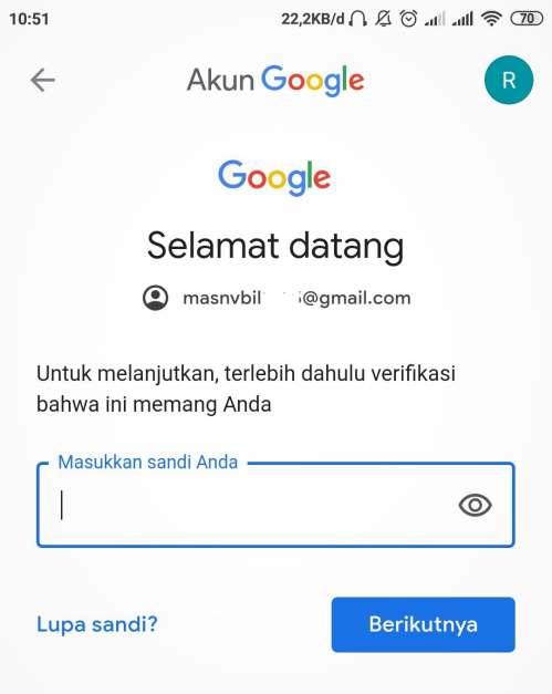 login akun Google