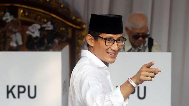Sandiaga Uno Terima Apapun Keputusan MK: Apapun Hasilnya Terbaik Untuk Bangsa Indonesia