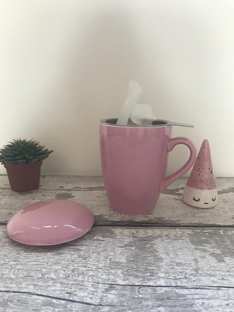 Adagio Teas infusing step one