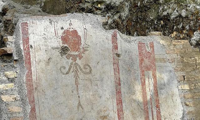 Rome metro excavations unearth 3rd-century 'Pompeii-like scene'