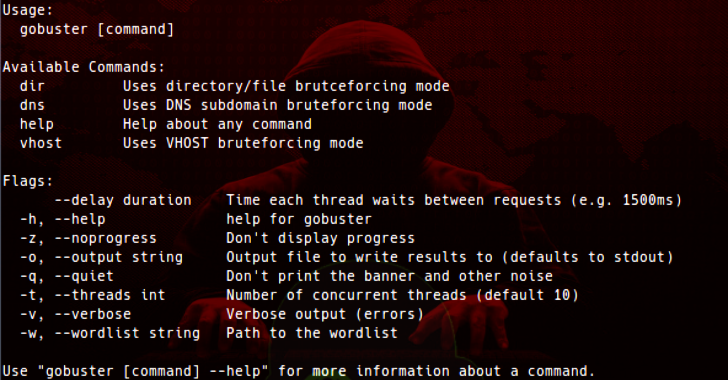 GoBuster : Directory/File, DNS & VHost Busting Tool Written In Go
