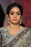 Sri Devi in designer saree stunning beauty at the launch of MOM movie Trailer~  Exclusive 020.JPG