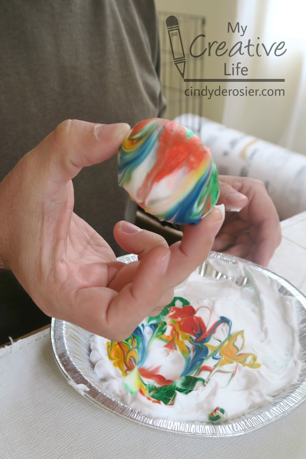 Cindy Derosier My Creative Life Dyeing Easter Eggs With